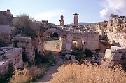 Ruins at the the ancient Lycian city of Xanthos, Turkey