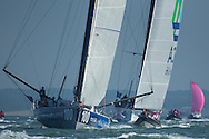 The Artemis Challenge at Aberdeen Asset Management Cowes Week 2014. <br /> Artemis and Team SCA<br /> FREE for editorial use. Credit: Lloyd Images
