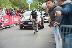 24.05.2015, Valdobbiadene, ITA, Giro d Italia 2015, 15. Etappe, Marostica nach Madonna di Campiglio, im Bild Leopold König, CZE, Team Sky // Leopold König, CZE, Team Sky during Giro d' Italia 2015 at Stage 15 from Marostica to Madonna di Campiglio, Italy on 2015/05/24. EXPA Pictures © 2015, PhotoCredit: EXPA/ R. Eisenbauer