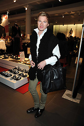 HENRY CONWAY at a preview of the H&M Comme des Garcons collection held at H&M Regent Stret, London on 12th November 2008.