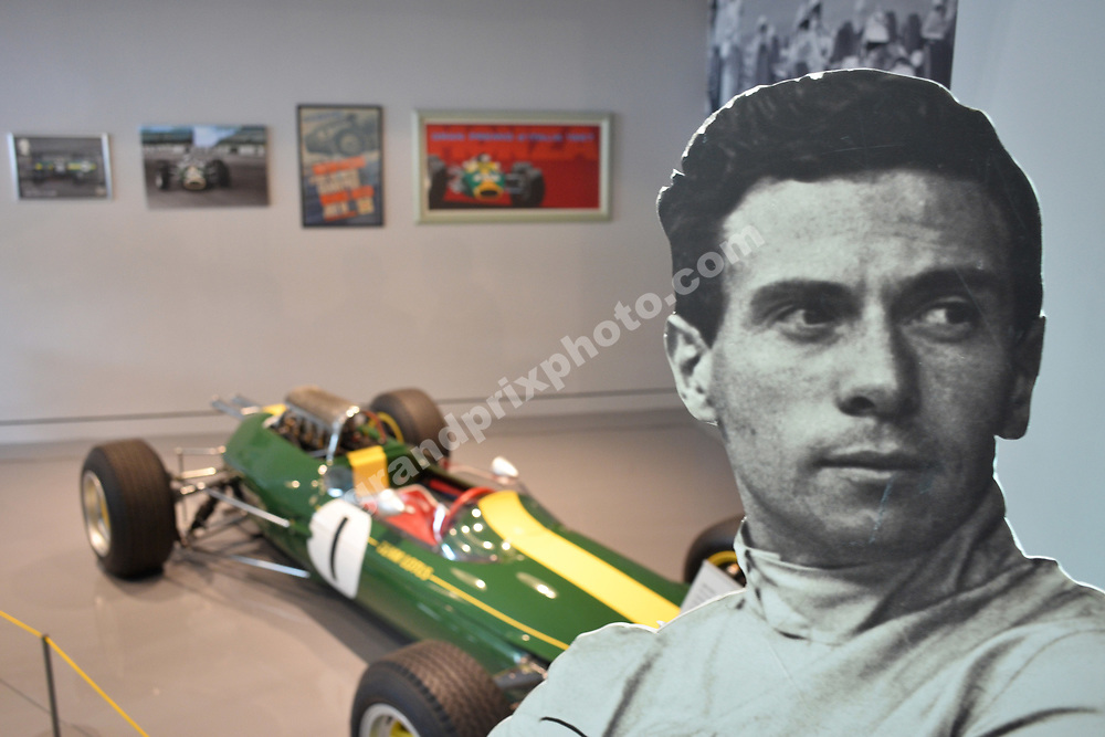 The official opening of the Jim Clark Motorsport Museum in Duns, Scotland. Photo: Grand Prix Photo