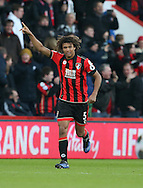 Bournemouth's Nathan Ake celebrates scoring his sides fourth goal during the Premier League match at the Vitality Stadium, London. Picture date December 4th, 2016 Pic David Klein/Sportimage