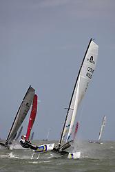 Coen de Koning Coen and Thijs Visser (NED 3) are the new worldchampion F18.
