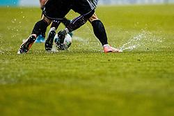 Football match between NK Triglav Kranj and NS Mura in 23rd Round of Prva liga Telekom Slovenije 2019/20, on March 1, 2020 in Športni park Kranj, Kranj, Slovenia. Photo By Grega Valancic / Sportida