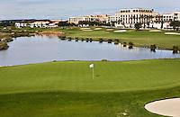 VILAMOURA - Algarve - Hotel Tivoli met hole 17 en 18 . Oceanico Victoria  Golfcourse, hole ,   COPYRIGHT KOEN SUYK