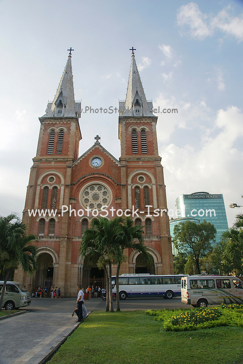 Notre Dame Cathedral. Ho Chi Minh city, Vietnam.