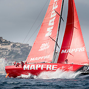 © Maria Muina I MAPFRE. Salida etapa 1 Alicante a Lisboa. Start of leg 1 Alicante to Lisbon.