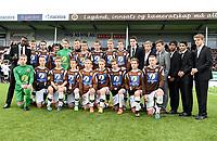 Fotball , 18. oktober 2014 , NM-finale G16 , Mjøndalen - Rosenborg 0-5<br /> <br /> lagbilde MIF , som ble numer to , sølv i NM