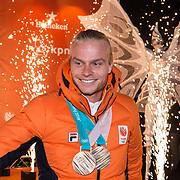 NLD/Amsterdam/20180226 - Thuiskomst TeamNL, Ronald Mulder