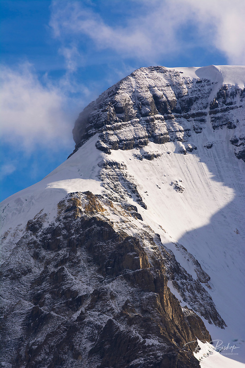 The north face of Mount Athabasca, Jasper National Park, Alberta Canada
