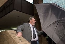 © Licensed to London News Pictures. 12/11/2015. London, UK. Tory peer, Lord Hanningfield (aka Paul White) leaves Southwark Crown Court in London where he is charged with false accounting in relation to claims for the daily allowance at the House of Lords. Lord Hanningfield is accused of 'clocking in' to Parliament and then leaving just minutes later in order to claim the daily attendance allowance of £300. Photo credit : Vickie Flores/LNP