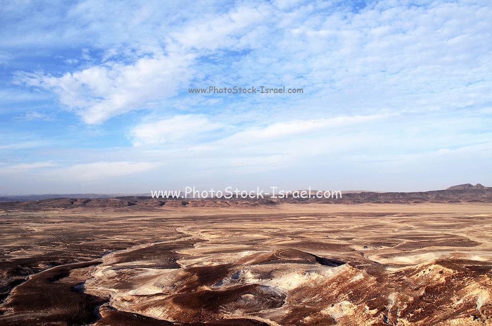 Desert sand dunes. Photographed in the Aravah region, Negev Desert, Israel
