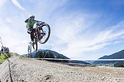 02.09.2012, Bikepark, Leogang, AUT, UCI, Mountainbike und Trial Weltmeisterschaften, MEN Elite, Downhill, im Bild Ben Reid (IRL) // during UCI Mountainbike and Trial World Championships, MEN Elite, Downhill at the Bikepark, Leogang, Austria on 2012/09/02. EXPA Pictures © 2012, PhotoCredit: EXPA/ Juergen Feichter