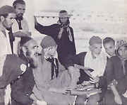 Yemenite Jews or Yemeni Jews,  arrive in Israel in 1949. They were brought out of Yemen by the new state of Israel to give them a secure and safe homeland. Between June 1949 and September 1950, the overwhelming majority of Yemen's Jewish population was transported to Israel in Operation Magic Carpet. After several waves of persecution throughout Yemen, most Yemenite Jews now live in Israel
