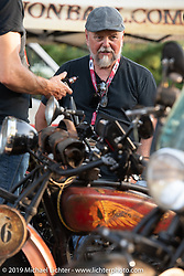 Brent Mayfield on the Motorcycle Cannonball coast to coast vintage run. Stage 8 (314 miles) from Spirit Lake, IA to Pierre, SD. Saturday September 15, 2018. Photography ©2018 Michael Lichter.