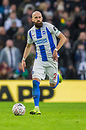 Bruno Salter (Capt)(Brighton) during the FA Cup fourth round match between Brighton and Hove Albion and West Bromwich Albion at the American Express Community Stadium, Brighton and Hove, England on 26 January 2019.