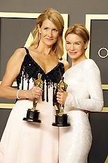 92nd Annual Academy Awards - Winners 02-09-2020