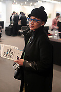 April 8, 2018-New York, New York-United States: Arts Collector Arlene Bascom attends the Photography Show presented by AIPAD held at Pier 94 on April 8, 2018 in New York City. The Photography Show, held at Pier 94, is the longest-running and foremost exhibition dedicated to the photographic medium, offering contemporary, modern, and 19th century photographs as wells photo-based art, video and new media.(Photo by Terrence Jennings/terrencejennings.com)