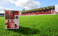 A close up of Lincoln City's match day programme, We Are Imps, at The Imps' LNER Stadium<br /> <br /> Photographer Chris Vaughan/CameraSport<br /> <br /> The EFL Sky Bet League One - Saturday 12th September 2020 - Lincoln City v Oxford United - LNER Stadium - Lincoln<br /> <br /> World Copyright © 2020 CameraSport. All rights reserved. 43 Linden Ave. Countesthorpe. Leicester. England. LE8 5PG - Tel: +44 (0) 116 277 4147 - admin@camerasport.com - www.camerasport.com - Lincoln City v Oxford United