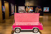 """JOSEPH """"PAA JOE"""" TETTEH-ASHONG (GHANAIAN, BORN 1945)'JFK Limousine' <br /> £4,000-6,000<br />  - Bonhams previews works from its Africa Now sail - the first contemporary sale of African artists - and its Gutai and ZERO exhibition. In their offices on New Bond Street."""