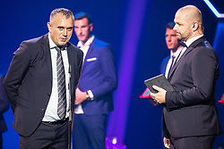 Dejan Stefanovic president of syndicate for football players in Slovenian Football leagues during SPINS XI Nogometna Gala 2019 event when presented best football players of Prva liga Telekom Slovenije in season 2018/19, on May 19, 2019 in Slovene National Theatre Opera and Ballet Ljubljana, Slovenia. Photo by Grega Valancic / Sportida.com