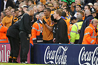 Photo: Rich Eaton.<br /> <br /> West Bromwich Albion v Wolverhampton Wanderers. Coca Cola Championship. Play off Semi Final 2nd Leg. 16/05/2007. Wolves Jay Bothroyd emerges from the crowd after falling over the ad boards