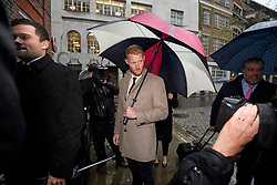 © Licensed to London News Pictures. 07/12/2018. London, UK. England cricketer BEN STOKES arrives at an ECB disciplinary panel hearing in central London. The England and Wales Cricket Board are due to rule on whether further disciplinary action will be taken against Ben Stokes and fellow cricketer Alex Hales over their involvement in a fight outside a nightclub in Bristol in 2017. Both are charged with two counts of bringing the game into disrepute. Photo credit: Ben Cawthra/LNP
