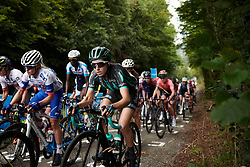 Sophie Wright (GBR) during GP de Plouay - Lorient Agglomération Trophée WNT, a 128 km road race in Plouay, France on August 31, 2019. Photo by Sean Robinson/velofocus.com