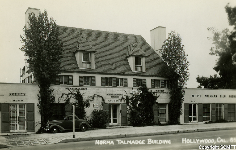 1938 Norma Talmadge Bldg. on Sunset Blvd. in West Hollywood