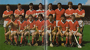 All Ireland Senior Hurling Championship - Final,.05.09.1982, 09.05.1982, 5th September 1982, .05091982AISHCF,.Cork v Tipperary, .Tipperary 3-18, Cork 1-13,. Cork,  John Crowley, Tim Crowley, John Buckley, Ger Cunningham, Pat Horgan, Ray Cummins, Kevin Hennessy, Martin O'Doherty, Back row, Sean O'Leary, John Blake, Dermot McCurtain, Tom Cashman, Jimmy Barry Murphy captain, Tony O'Sullivan,