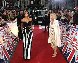 © Licensed to London News Pictures. 29/01/2017. London, UK, Alesha Dixon; Amanda Holden, Britain's Got Talent - London photocall, Photo credit: Richard Goldschmidt/LNP