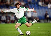 Fotball<br /> VM-kvalifisering<br /> Sveits v Irland<br /> Basel<br /> 8. september 2004<br /> Foto: Digitalsport<br /> NORWAY ONLY<br /> KEVIN KILBANE (IRE)