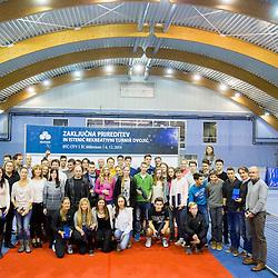 20141206: SLO, Tennis - Zakljucna prireditev Teniske zveze Slovenije in Istenic turnir dvojic