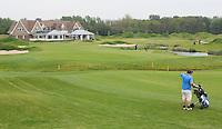 SPIJK - Golfwedstrijd op The Dutch golfbaan . COPYRIGHT KOEN SUYK