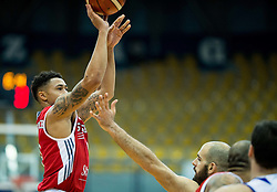 A.J.Slaughter of SIG Strassbourg during basketball match between KK Cibona Zagreb (CRO) and SIG Strasbourg in Round #6 of FIBA Champions League 2016/17, on November 23, 2016 in Drazen Petrovic Basketball center, Zagreb, Croatia. Photo by Vid Ponikvar / Sportida