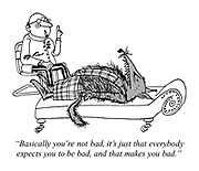 """""""Basically you're not bad, it's just that everybody expects you to be bad, and that makes you bad."""""""