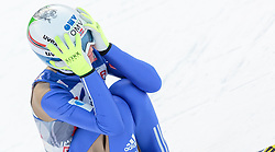 03.01.2016, Bergisel Schanze, Innsbruck, AUT, FIS Weltcup Ski Sprung, Vierschanzentournee, Bewerb, im Bild Johann Andre Forfang (NOR) // Johann Andre Forfang of Norway reacts after his Competition Jump of Four Hills Tournament of FIS Ski Jumping World Cup at the Bergisel Schanze, Innsbruck, Austria on 2016/01/03. EXPA Pictures © 2016, PhotoCredit: EXPA/ JFK