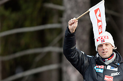 03.01.2014, Bergisel Schanze, Innsbruck, AUT, FIS Ski Sprung Weltcup, 62. Vierschanzentournee, Training, im Bild Cheftrainer Alexander Stöckl (NOR) // Cheftrainer Alexander Stöckl (NOR) during practice Jump of 62nd Four Hills Tournament of FIS Ski Jumping World Cup at the Bergisel Schanze, Innsbruck, <br /> Austria on 2014/01/03. EXPA Pictures © 2014, PhotoCredit: EXPA/ JFK