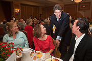 Mark Matson for American-Statesman (5/4/10)  The Texas State Prayer Breakfast, part of the National Day of Prayer activites,  was held Tuesday morning at the Doubletree Hotel in Austin. Texas Governor Rick Perry, who spoke at the event, visits with (L-R) Julie Baselice, Christie Gonzales, and David Gonzales.