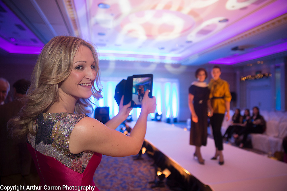 8/12/15 Helen McEntee TD at the Oireachtas Christmas Charity Fashion Show in aid of Research Motor Neurone in the Shelbourne Hotel. Picture: Arthur Carron