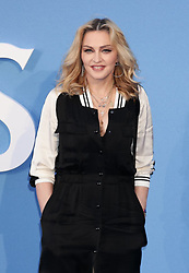 Madonna arrives for the premiere of Ron Howard's The Beatles: Eight Days A Week - The Touring Years at the Odeon Leicester Square in London.