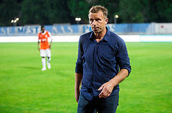 Miran Srebrnic, coach of Gorica after the 2nd Leg football match between ND Gorica and FC Shirak in 1st Qualifying Round of UEFA Europa League 2017/18, on July 6, 2017 in Nova Gorica, Slovenia. Photo by Vid Ponikvar / Sportida