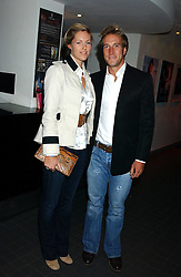 BEN FOGLE and MARINA HUNT at the Harpers and Moet Restaurant Awards 2005 held at Floridita, Wardour Street, London W1 on 31st October 2005.<br /><br />NON EXCLUSIVE - WORLD RIGHTS