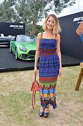 Tess Ward  at the Laureus King Power Cup polo match held at Ham Polo Club, Richmond, London England. 22 June 2017.<br /> Photo by Dominic O'Neill/SilverHub 0203 174 1069 sales@silverhubmedia.com