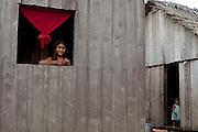 Tarauaca_AC, Outubro de 2011, Brasil.<br /> <br /> Fotos do X Festival Yawanawa na terra indegena da aldeia Nova Esperanca em Tarauaca, Acre. Na foto Rio Gregorio.<br /> <br /> X Yawanawa Festival in Brazil. The festival takes place in the Brazilian Amazon rainforest, in the state of Acre. In this photo Gregorio river.<br /> <br /> Foto: MARCUS DESIMONI / NITRO