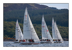 Brewin Dolphin Scottish Series 2010, Tarbert Loch Fyne - Yachting..Perfect conditions for the last days racing deciding the result in most fleets..Sigma 33 Fleet, with 1685C ,Rajah ,Roy Summers ,CCC/RNCYC..Credit : Marc Turner / CCC......