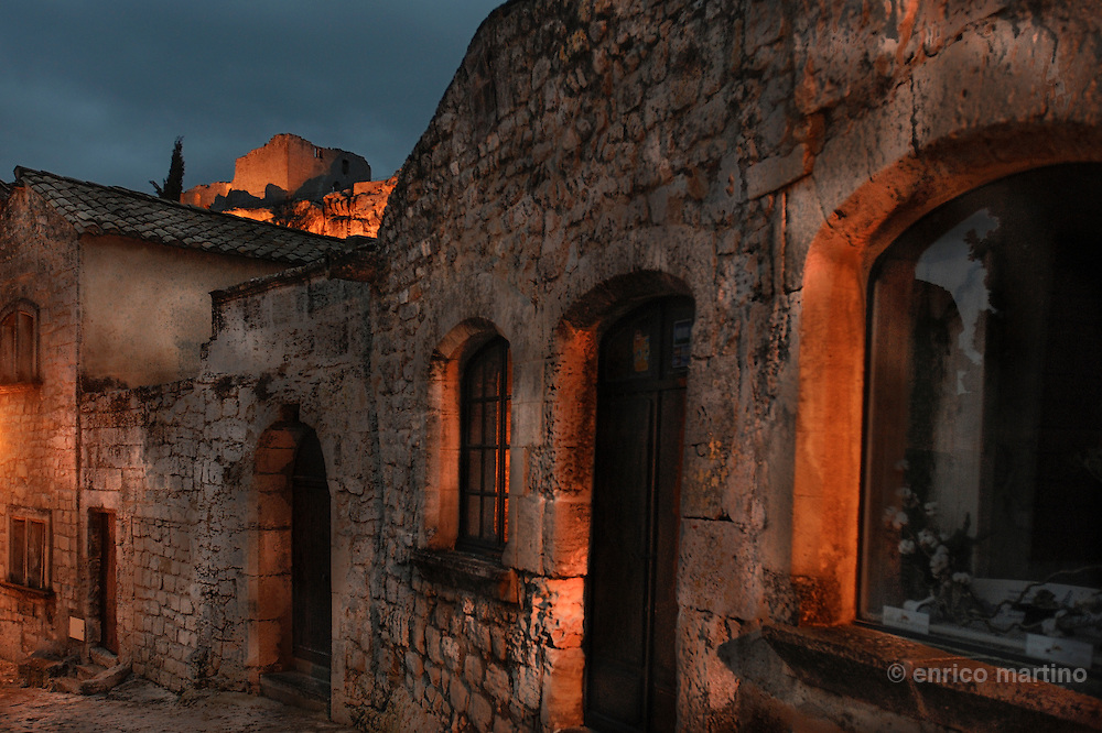 Les Baux. Located on a rocky plateau in the heart of the Alpilles, Les Baux de Provence has been patiently restored and now boasts a historical and architecture heritage consisting of 22 listed buildings.