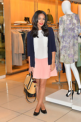 SARAH-JANE CRAWFORD at the French Connection #NeverMissATrick Launch Party held at French Connection, 396 Oxford Street, London on 23rd July 2014.