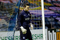 Josh Barnes. Stockport County 0-0 Solihull. Vanarama National League. 27.10.20