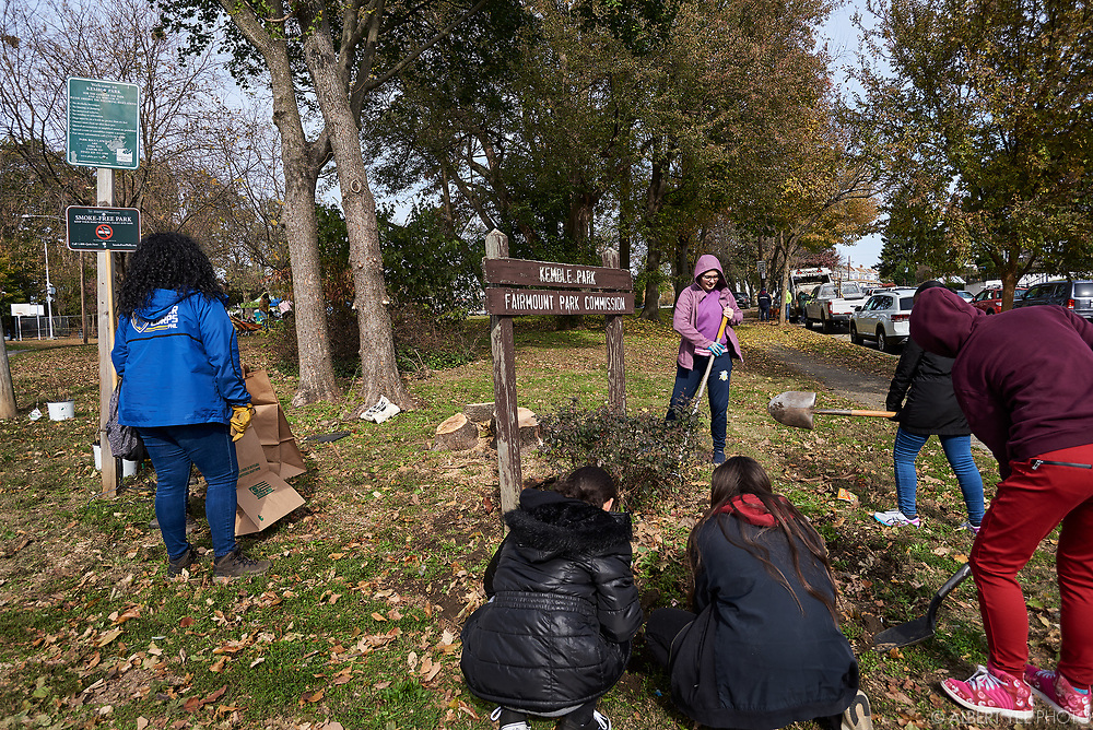 Signature Site Event at Kemble Park<br /> Join us to celebrate the 10th annual Love Your Park Fall Service Day with a special signature site event at Kemble Park! Community members are invited to clean, green, and celebrate along with the Friends of Kemble Park, Philadelphia Parks & Recreation, Fairmount Park Conservancy, and volunteers from our sponsors. Mayor Jim Kenney and other VIPs will join us for a brief speaking program, and we'll have food, music, and fun activities for kids.<br /> for Fairmount Park Conservancy<br /> November 8, 2019